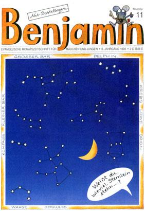 """Titelbild """"Benjamin"""""""