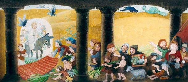 Illustration aus Wir feiern Ostern
