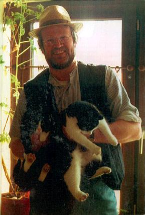 Henry Euler mit Katze