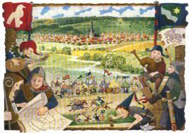 Wartenberg - Ritterspiele auf der Burgruine