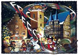 Weihnachtsgruß aus Alsfeld