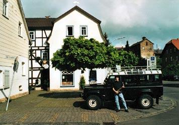 Henry Eulers Wohnhaus mit Malschule