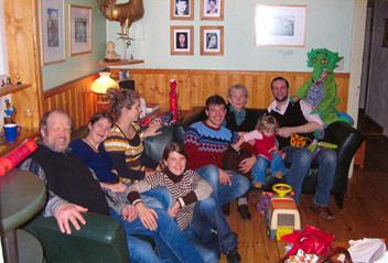 Weihnachten im Kreise der Familie