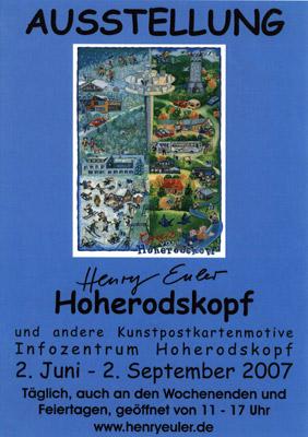Ausstellung am Hoherodskopf